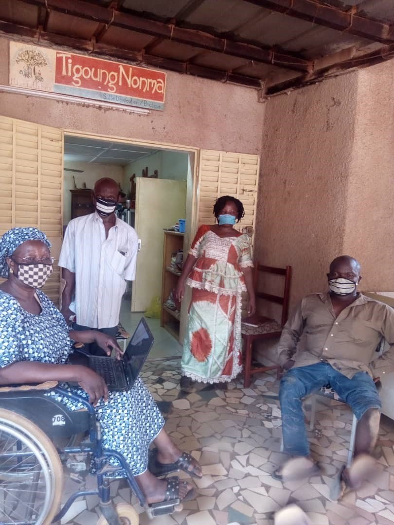 URGENT APPEAL – Please support people with disabilities in Burkina Faso to protect themselves during the coronavirus pandemic